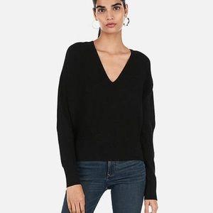 NWOT Express V neck Dolman Sweater